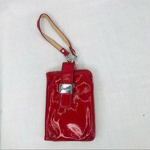 """Grace Adele Red Wallet Wristlet 4""""x 5"""""""